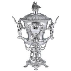 Queen Victoria & the Royal Mersey Yacht Club; a Royal Presentation Silver Trophy