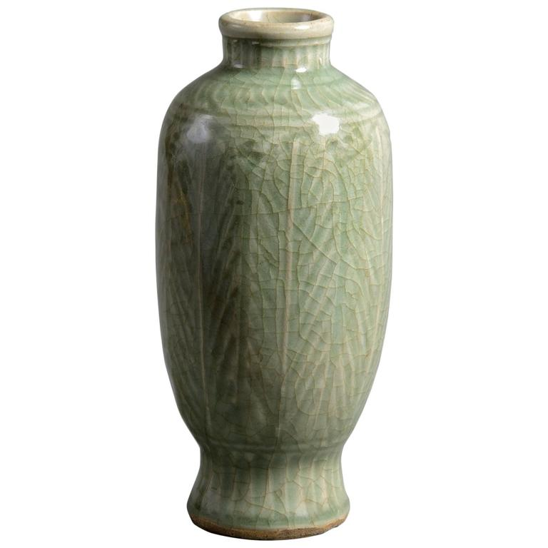 Ming vase, ca. 1600, offered by Timothy Langston Fine Art & Antiques