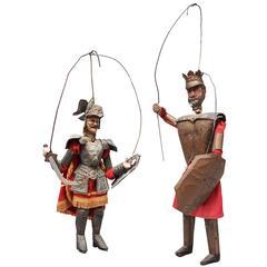 Traditional Sicilian Palermo 'Opera Dei Puppi' String Puppets
