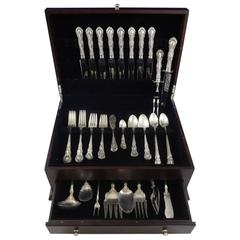 Old Atlanta by Wallace Irving Sterling Silver Flatware Set 8 Service 66 Pieces