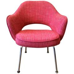 Eero Saarinen for Knoll Executive Armchair with Chrome Legs