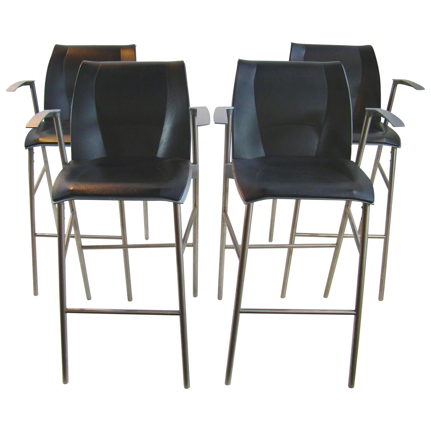 Frank Gehry For Knoll Studio Limited Edition Fog Bar Stools For Sale At 1stdibs