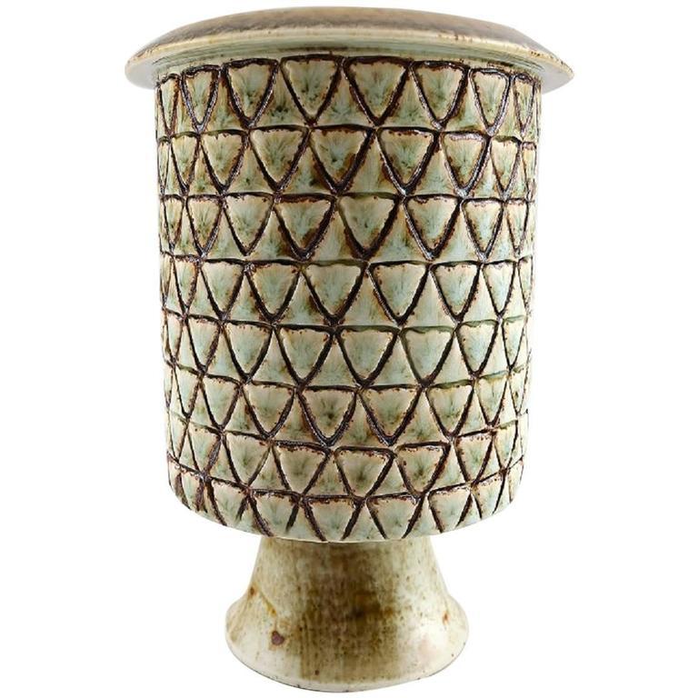 Stig Lindberg Gustavberg Studio Pottery Vase, circa 1960