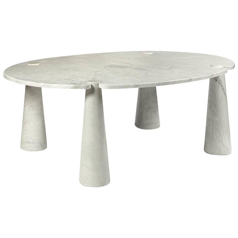 Marble Dining Room Table by Angelo Mangiarotti