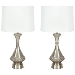 Brushed Nickel Lamps by Westwood Industries