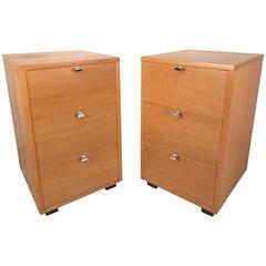 Pair Mid-Century Kent Coffey Nightstands