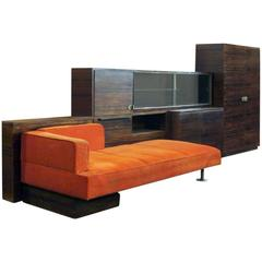 Modernist Storage Module with Built-In Daybed, 1930