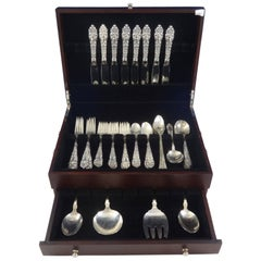 Athene / Crescendo by Amston Sterling Silver Flatware Set 8 Service 51 Pieces