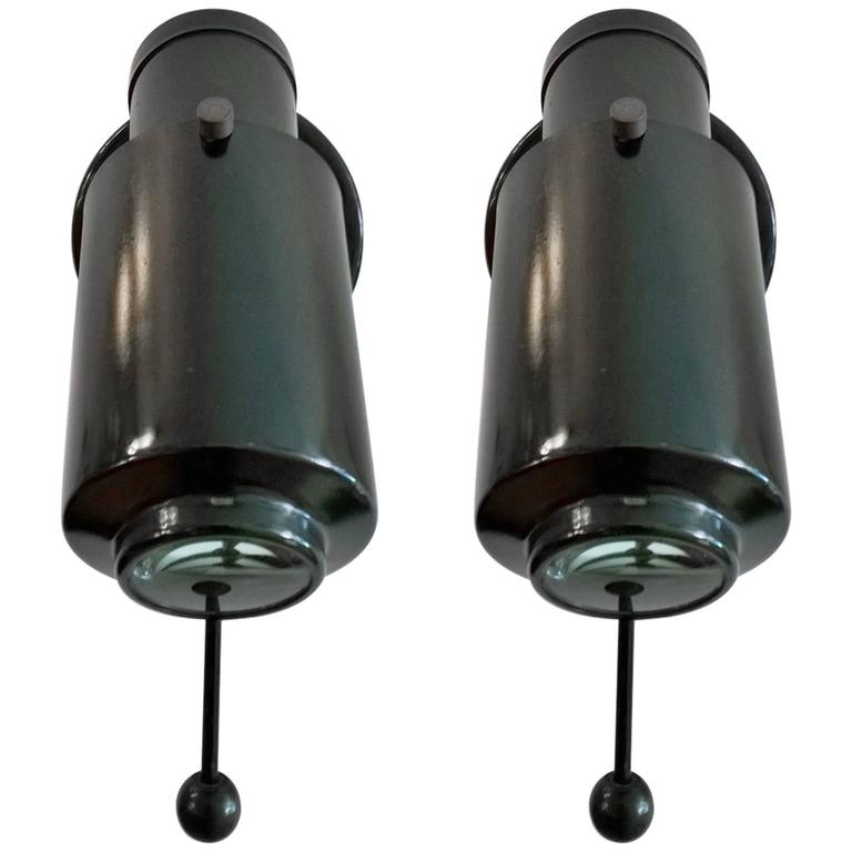 Pair of Lite J. Biny French 1960s Wall Lights