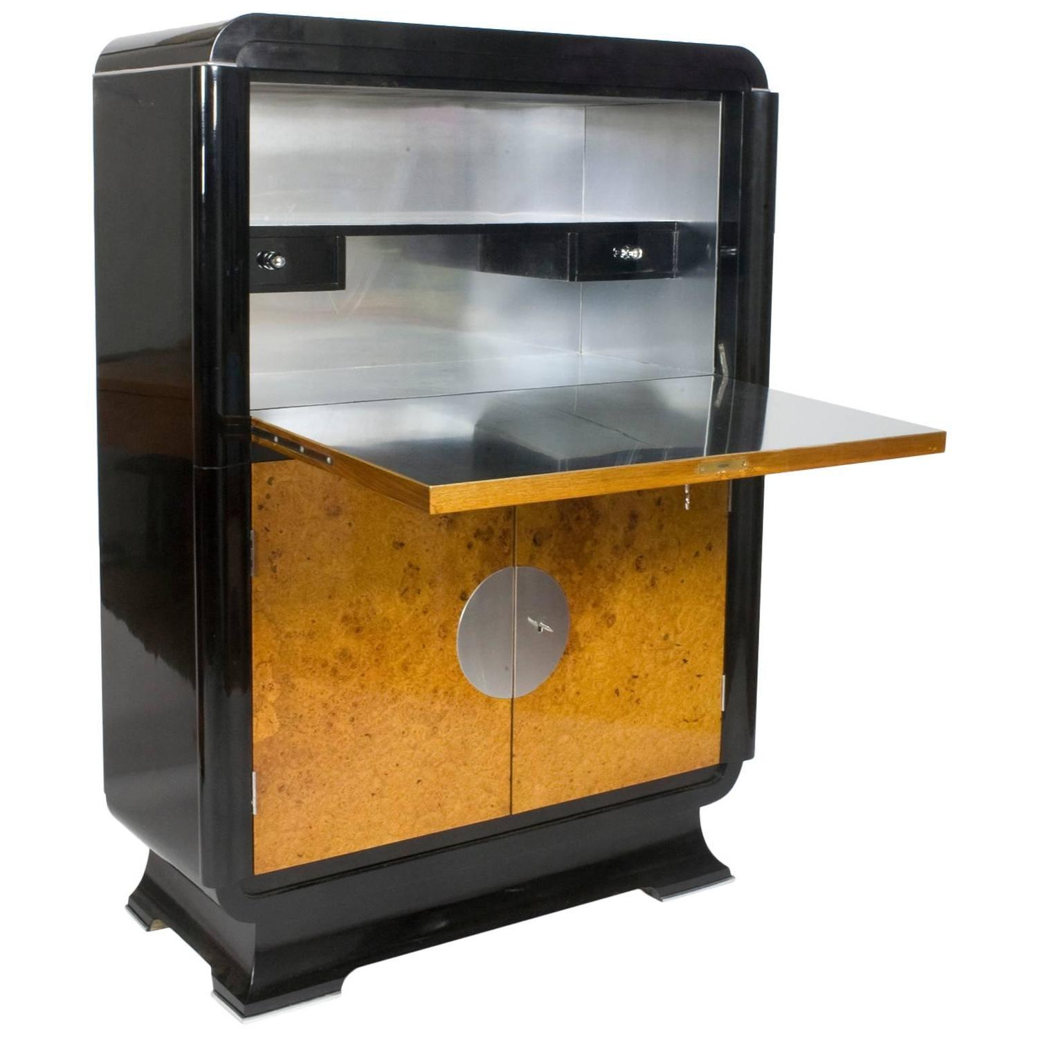 20th Century Art Deco Bar Cabinet For Sale At 1stdibs
