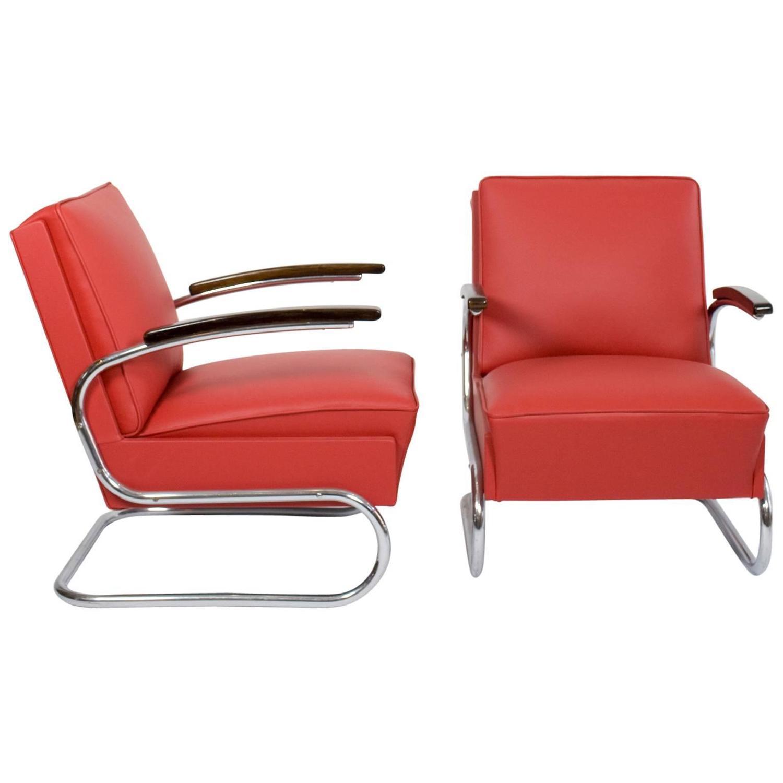 Bauhaus tubular steel lounge chair at 1stdibs - Bauhaus Tubular Steel Lounge Chair At 1stdibs 2