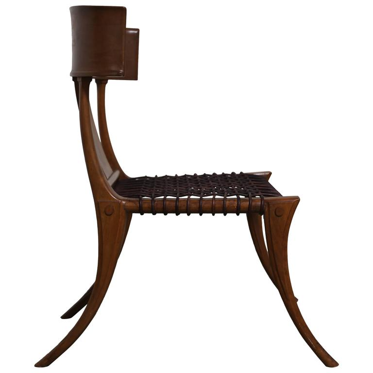 Robsjohn Gibbings Klismos Chair for Saridis at 1stdibs