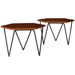 Rare Pair of Coffee Tables by Gio Ponti