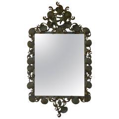 Sea Shell Iron Mirror