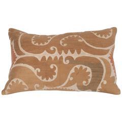Mid-20th Century Uzbek Samarkand Suzani Pillow