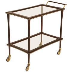 French Bar or Tea Cart