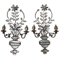 Pair of Early Bagues Sconces