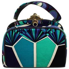Emilio Pucci Midcentruy Design Purse or Handbag by Jana, 1960s