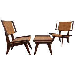 Rare Pair of Lounge Chairs by Paul Laszlo