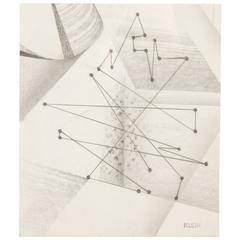 Abstract Drawing by Klein