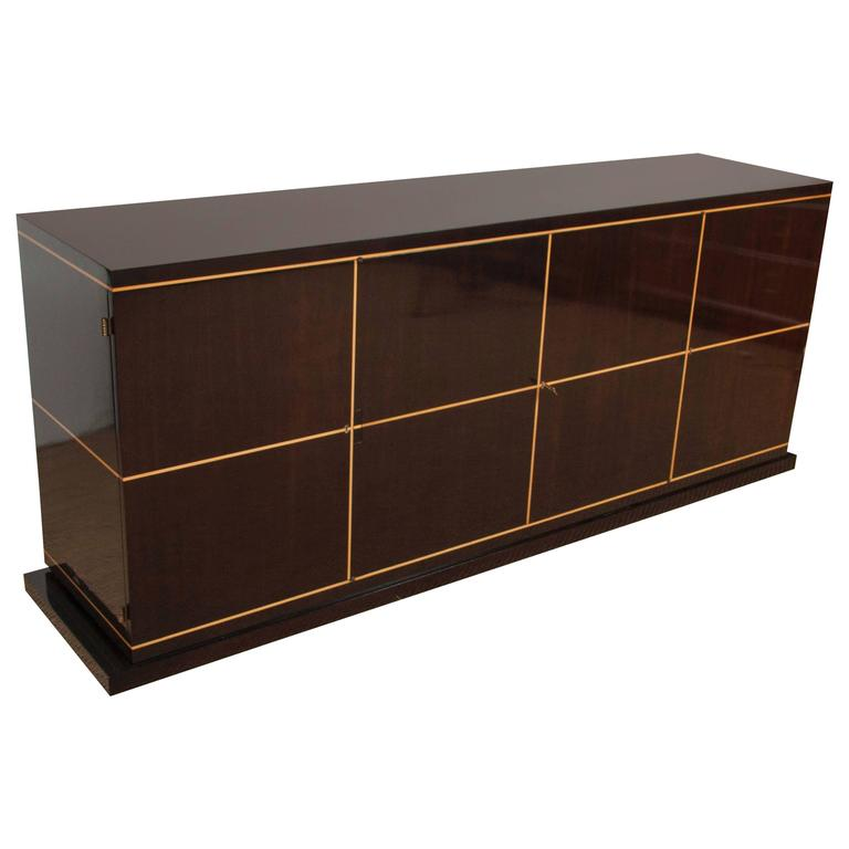 Beautifully Lacquered Sideboard by Tommi Parzinger