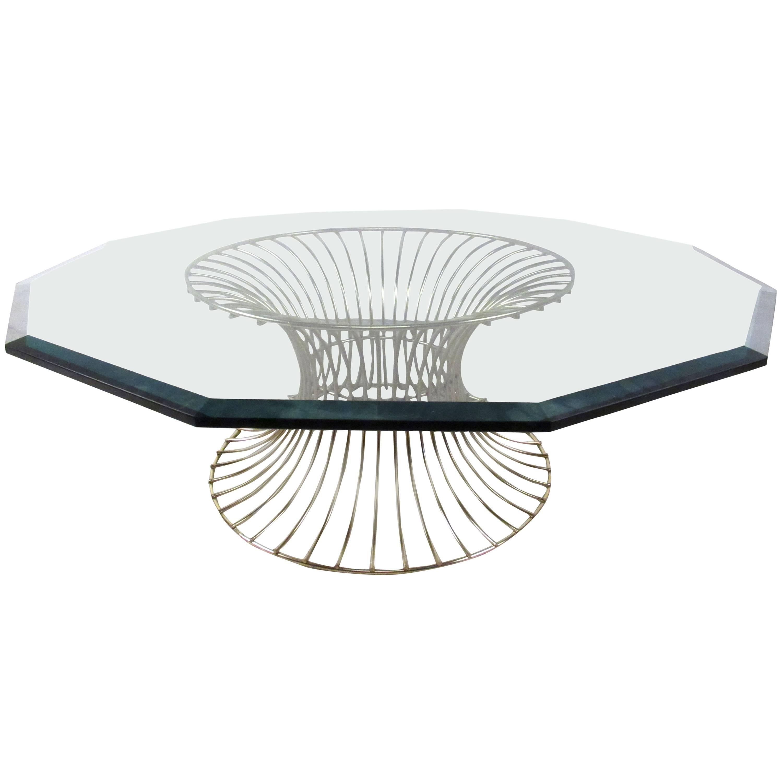 Mid-Century Platner Style Coffee Table