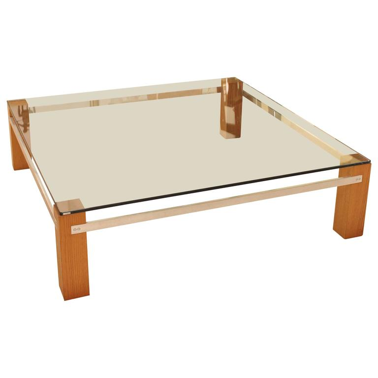 Harvey Probber Square Cocktail Table