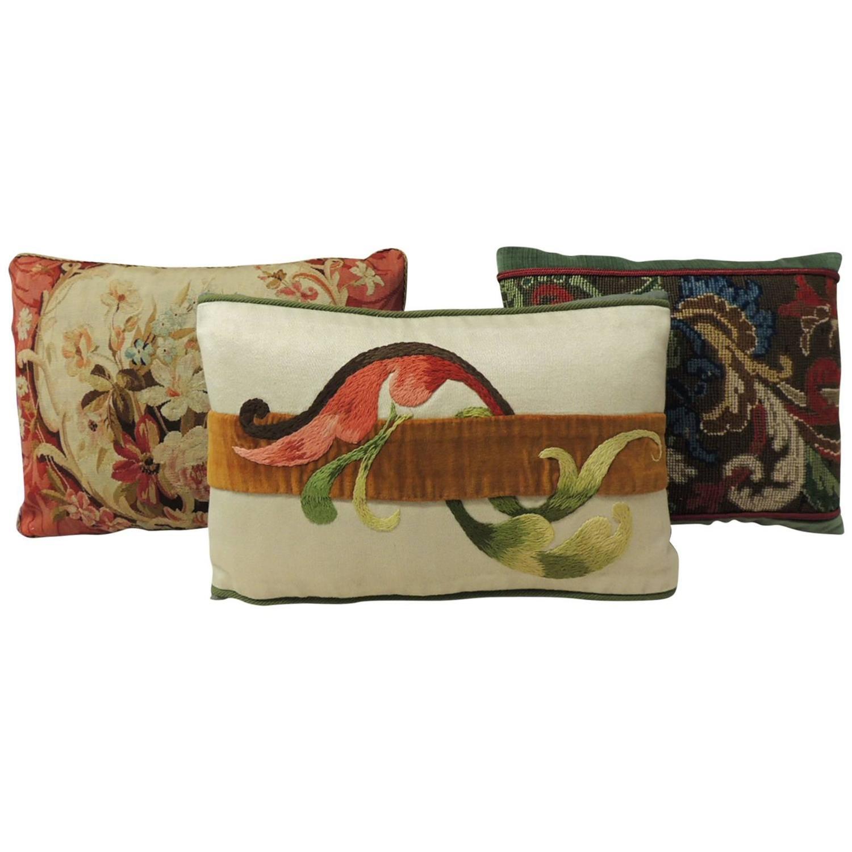 Decorative Lumbar Tapestry Pillows At 1stdibs