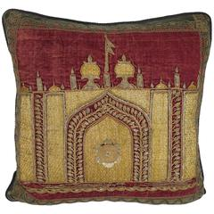 Ottoman Era Embroidered Pillow by Mary Jane McCarty