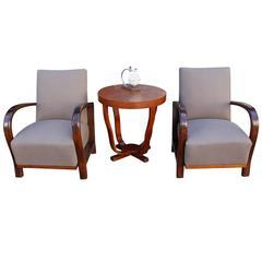 French Art Deco Living Room Set