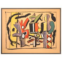 Period Fernand Leger Framed Print