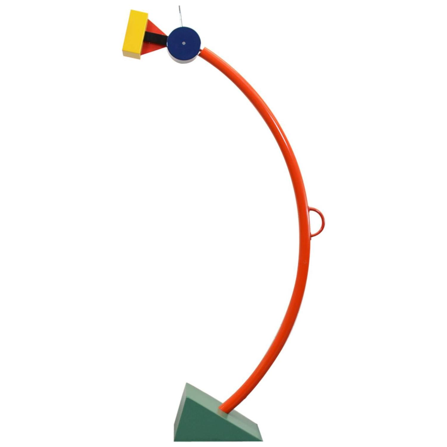 Treetops floor lamp by ettore sottsass for memphis milano for Memphis sottsass