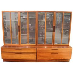 Brazilian Rosewood Reolsystem Cabinet by Ib Kofod Larsen for Faarup Mobelfabrik