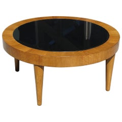American Period Art Moderne Walnut Coffee Table