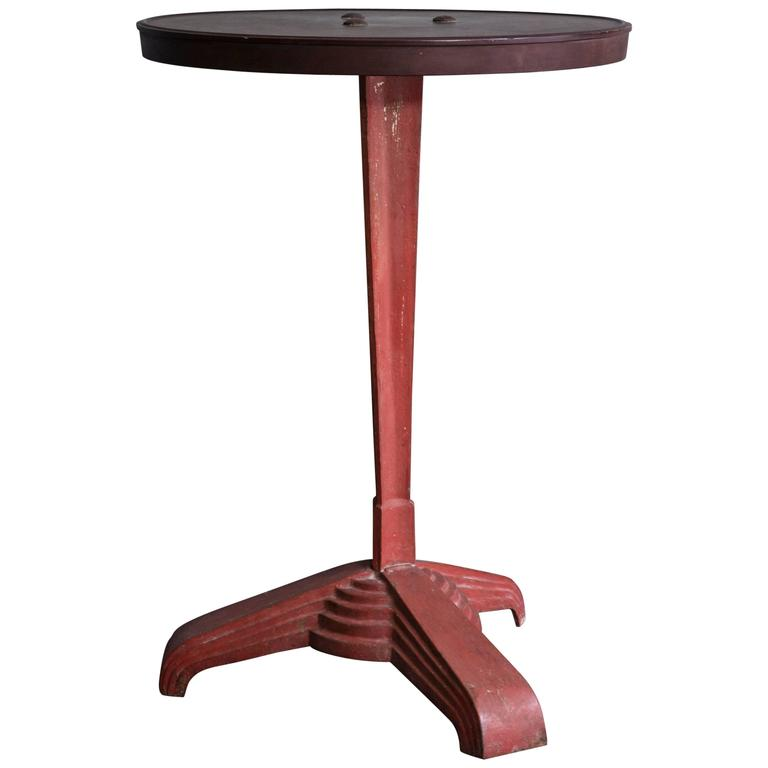 Charming Table from the 1950s with Bakelite Top