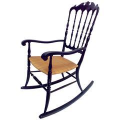 Rocking Chair Chiavari, Fratelli Podestà Italy, 1960