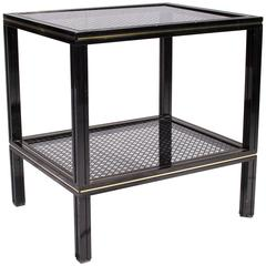Lacquered Side Table by Pierre Vandel