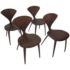 Plycraft Norman Cherner Side Chairs