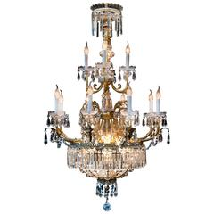 Chandelier 19th Century Louis XV Style