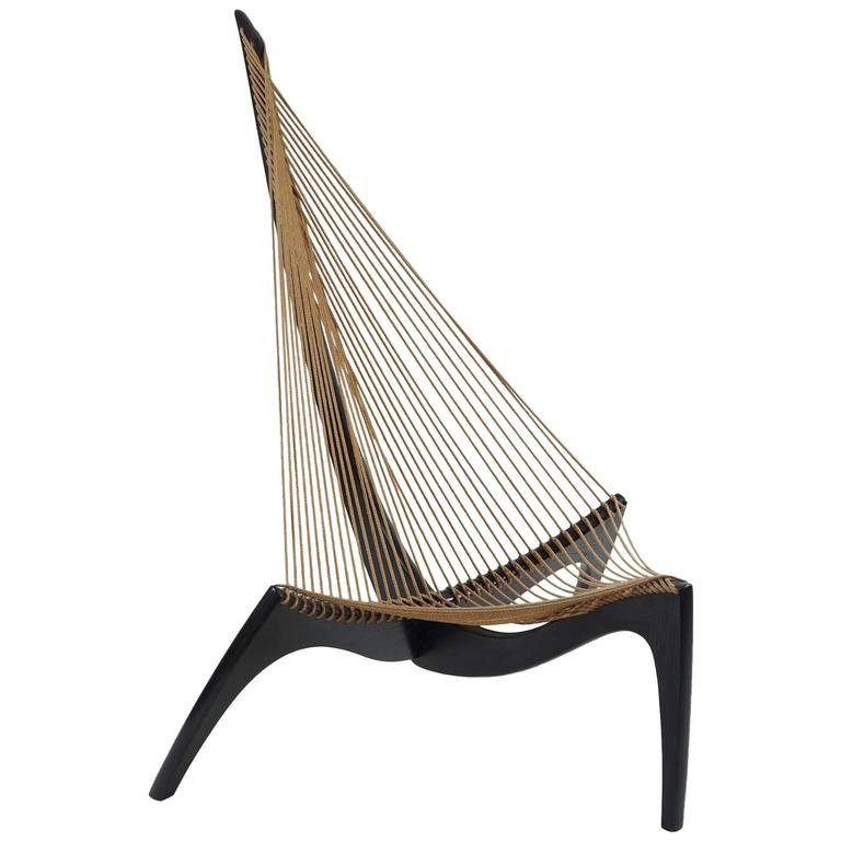Harp Chair By Jorgen Hovelskov At 1stdibs