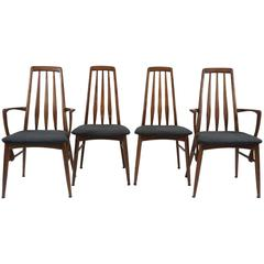 Set of Four Niels Koefoed for Hornslet Dining Chairs