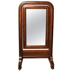 Early 19th Century, English, William IV Cheval Mirror