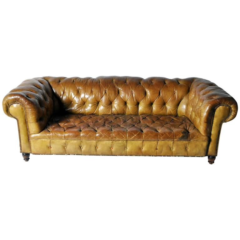 Leather Chesterfield Sofa 1