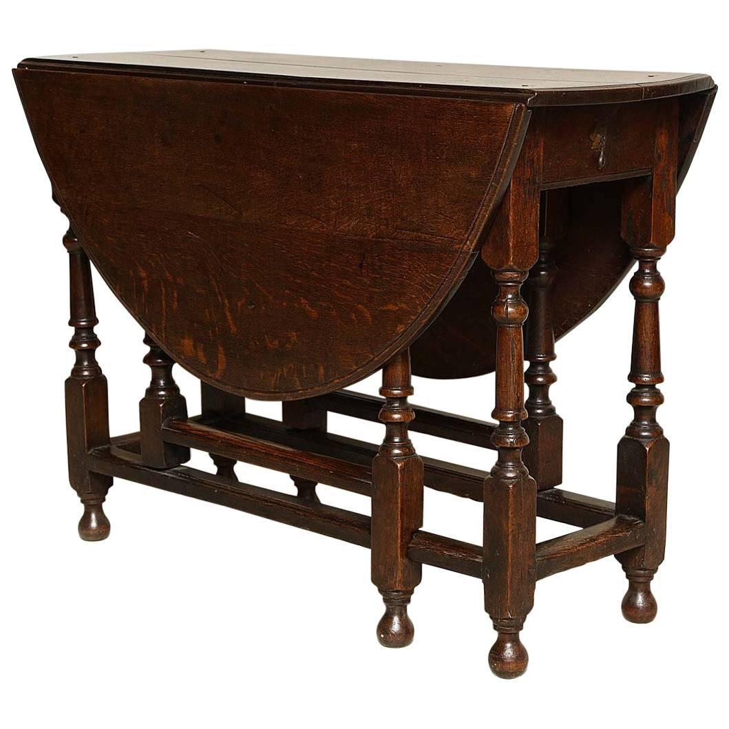 English Oak Gateleg Table