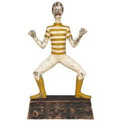 Fairground Whimsical Figure of Strongman John