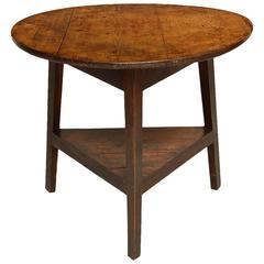 Good English Pine Cricket Table