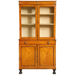 Early 19th Century Burr Oak Cabinet