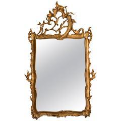 20th Century Italian Giltwood Mirror