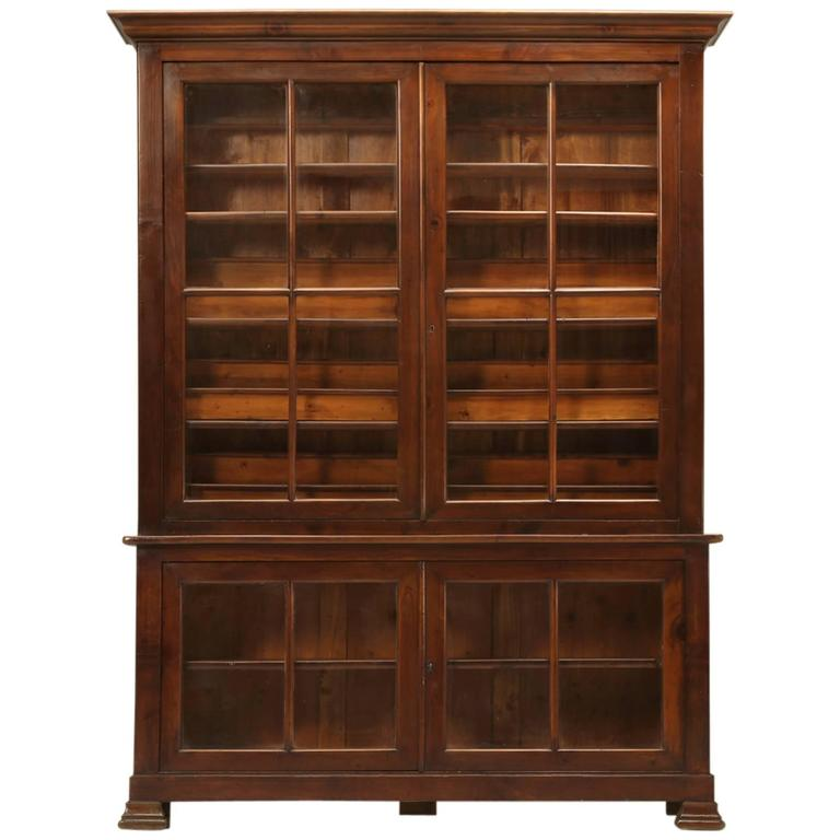 French vitrine or specimen cabinet circa 1891 for sale at for Sideboard vitrine
