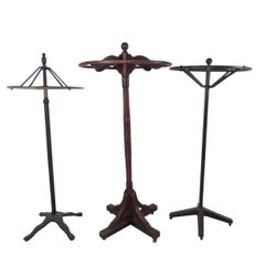 Unique Selection of Industrial Vintage Storefront Clothing Racks